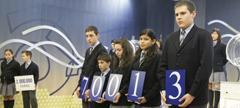 El 70.013, primer premio del sorteo de la Lotería del Niño