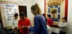 Los niños de San Ildefonso ensayan para que todo salga perfecto el día 22.