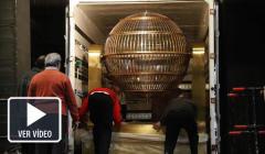 Los bombos ya están en el Teatro Real de Madrid.