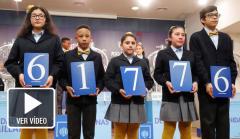 61776, segundo premio de la Lotería del Niño 2019