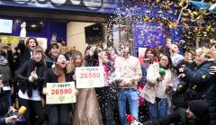 Agraciados con el Gordo del Sorteo Extraordinario de Lotería de Navidad 2019.
