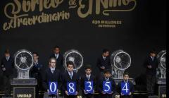 Primer premio de la Lotería del Niño en 2017.