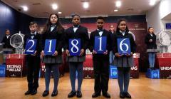 El número 21.816, el segundo premio de la Lotería del Niño.