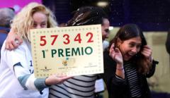 Los premiados de la Lotería del Niño.